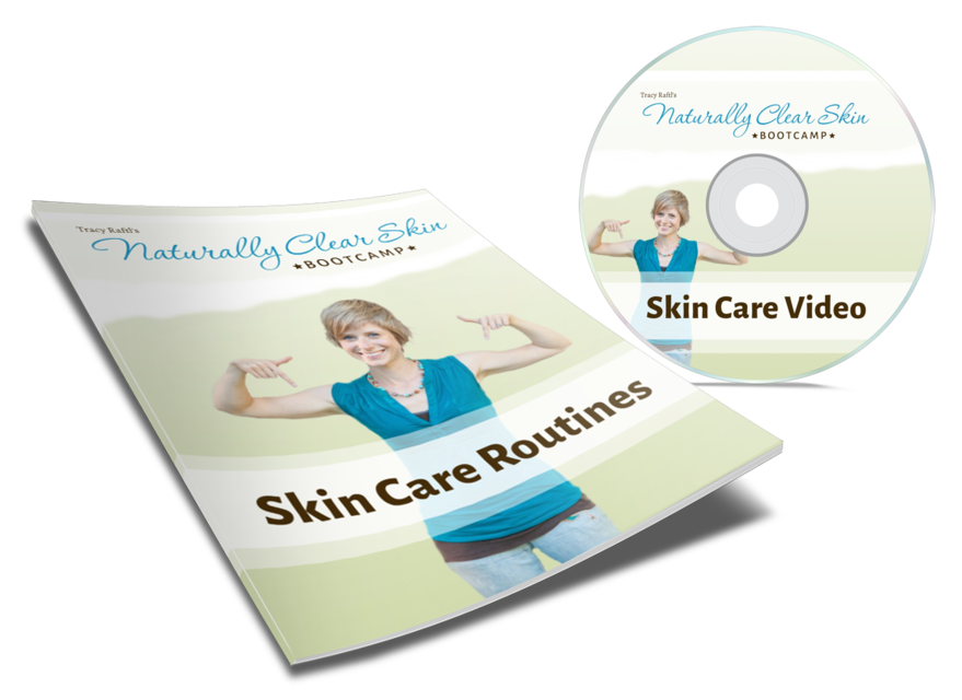Naturally Clear Skin Skin Care Routines