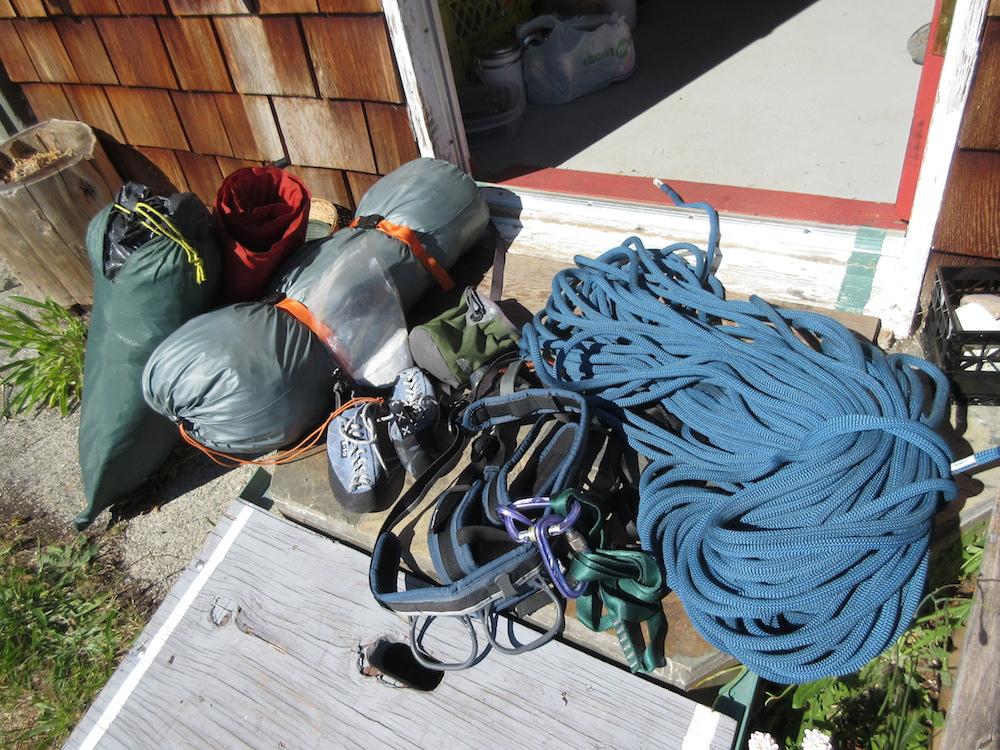 Getting my gear ready