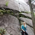 The Love Vitamin rock climbing