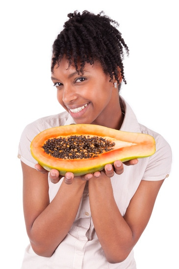 Papaya enzymes skin care