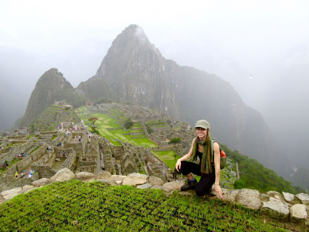 Tracy The Love Vitamin Machu Picchu