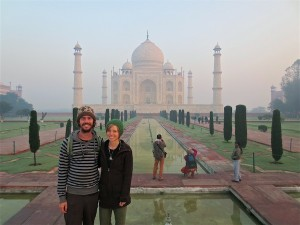 The Love Vitamin at the Taj Mahal