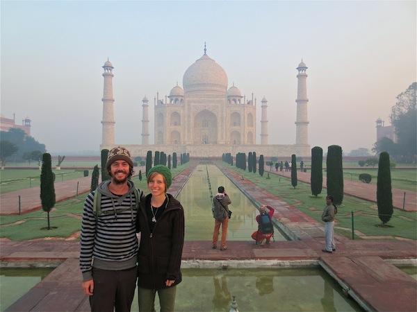 The Love Vitamin at the Taj Mahal