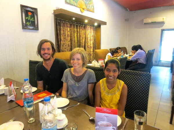 My family has been sponsoring a child for a couple of years and we got to spend a day with her in Kolkata!