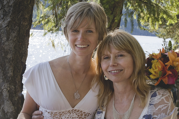 Tracy Raftl and her mom