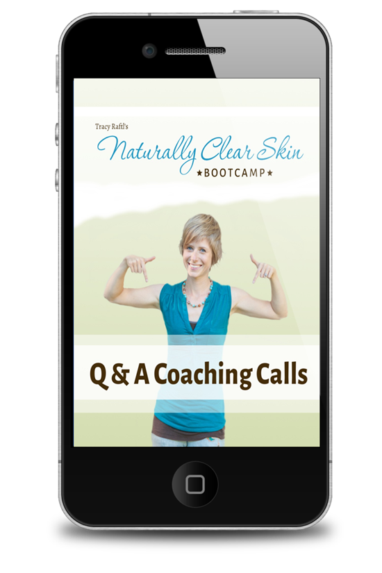 Naturally Clear Skin Coaching Calls