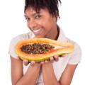 Papaya enzymes skin care