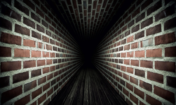 The dark tunnel of your mind