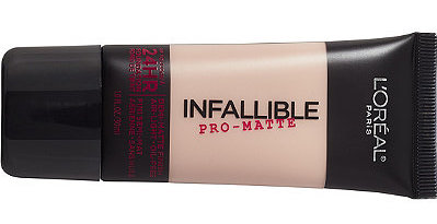 l'oreal infallible pro-matte - is it good for acne prone skin?