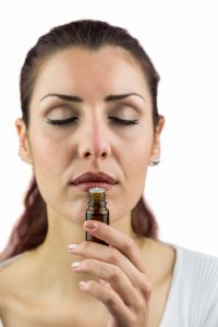 Smelling frankincense essential oil relieves stress and anxiety