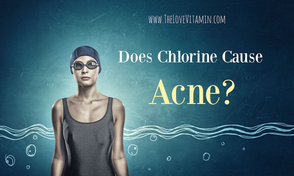 Swimming in chlorine and acne